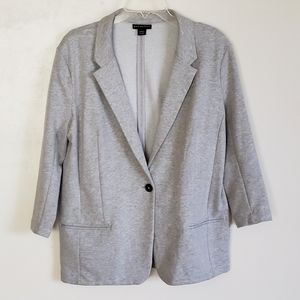 Metaphor Women's Blazer 3/4 Sleeve Jersey Knit XL